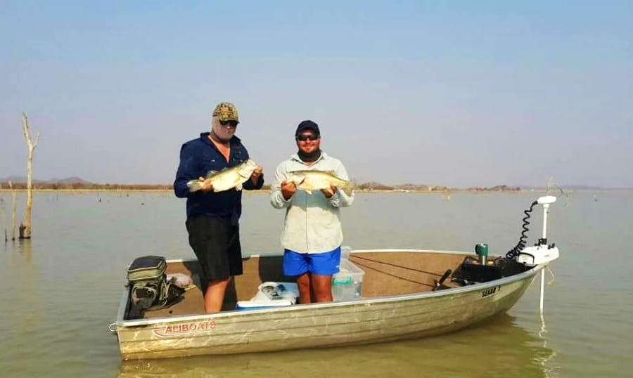 Rent a Fishing Dinghy for 3 in Central District, Botswana