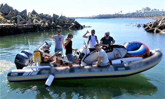 Rent The Infanta Rigid Inflatable Boat For 12 Passengers In Cape Town