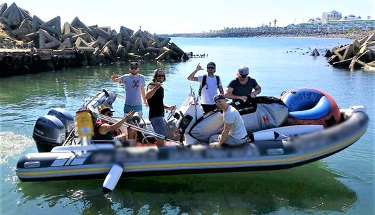 Rent The Infanta Rigid Inflatable Boat For 11 Passengers In Cape Town