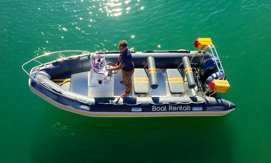 Gemini Rib With Twin 60 Hp Yamaha Outboard Motor For Rent In Cape Town, South Africa
