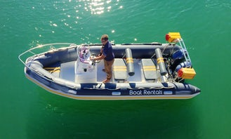 Boat Echo (8 pax), 5.5m RIB with Twin FT60E Yamaha outboards in Cape Town, South Africa
