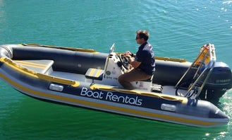 Boat Alpha (5 pax), 4.75m RIB with Single FT60E Yamaha outboard in Cape Town, South Africa