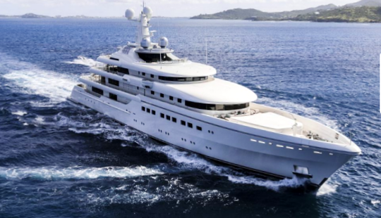 Charter 268' Romea Power Mega Yacht In Monaco