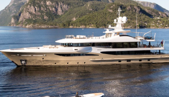 Charter 180' Lili Power Mega Yacht In Monaco