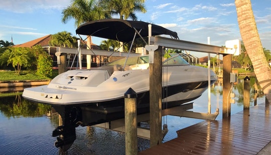 Beautiful Bowrider Boat For Unforgettable Memories In Cape Coral