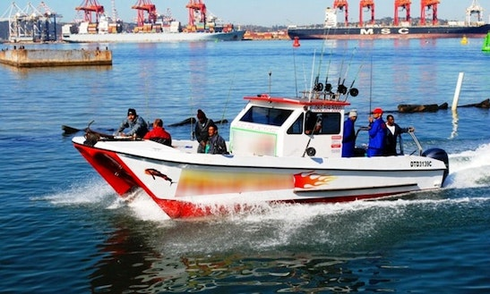 Enjoy Fishing In Durban, South Africa On 33' V-cat Power Catamaran