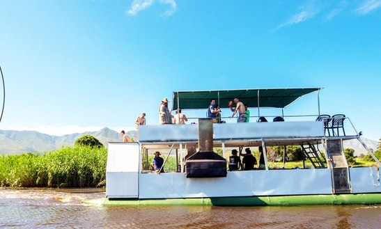 Enjoy 39 Ft Pontoon Charter In Stanford, Western Cape