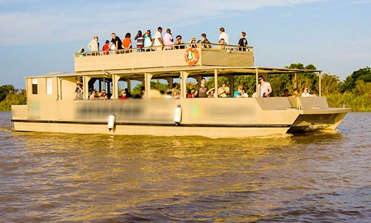 Hippo/Croc Boat Cruise In St Lucia