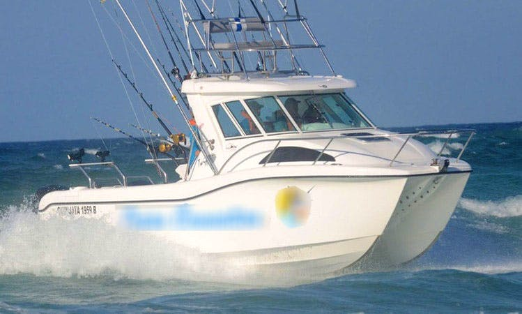 Enjoy Fishing in Saint Lucia, South Africa on 24' Sport Fisherman