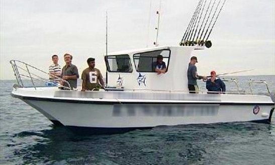 'lynski 7' Is The Perfect Boat For Shark Fishing