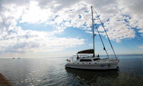 43' Sailing Catamaran In Namibia