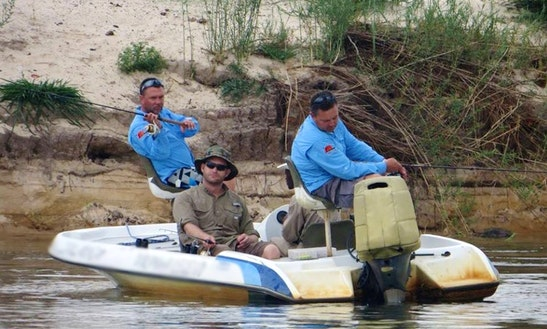 Enjoy Fishing In Pretoria, South Africa On Dinghy