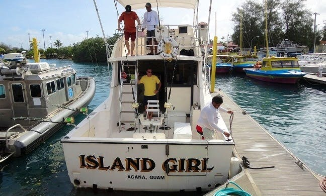 Enjoy Fishing in Tamuning, Guam with Captain Frank