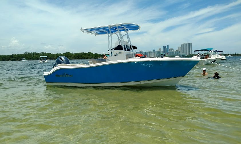 Fishing or island hopping in Fort Lauderdale, Florida