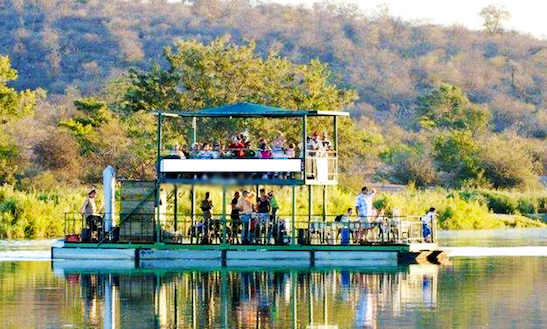 Enjoy River Cruise On Olifants River In Phalaborwa, South Africa