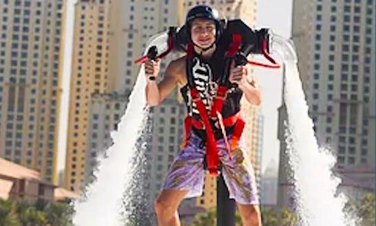 Enjoy Jetpack In Dubai, United Arab Emirates