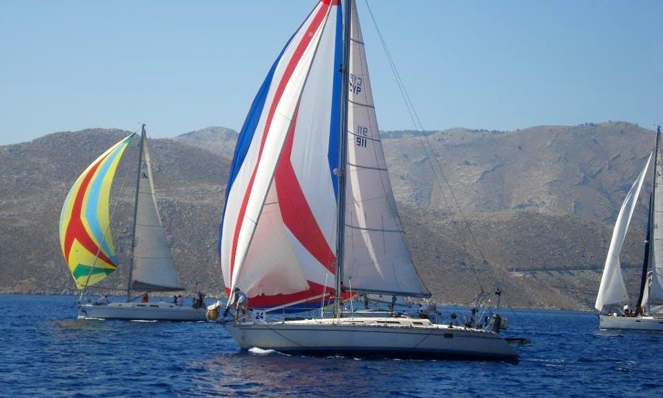 Charter 41' Jeanneau Sun Legende Cruising Monohull in Larnaca, Cyprus