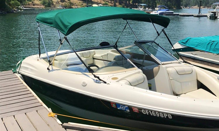 7-person Bowrider Boat Rental In Shaver Lake, California
