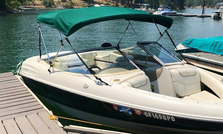 7 passenger Bowrider Boat Rental In Millerton Lake, California