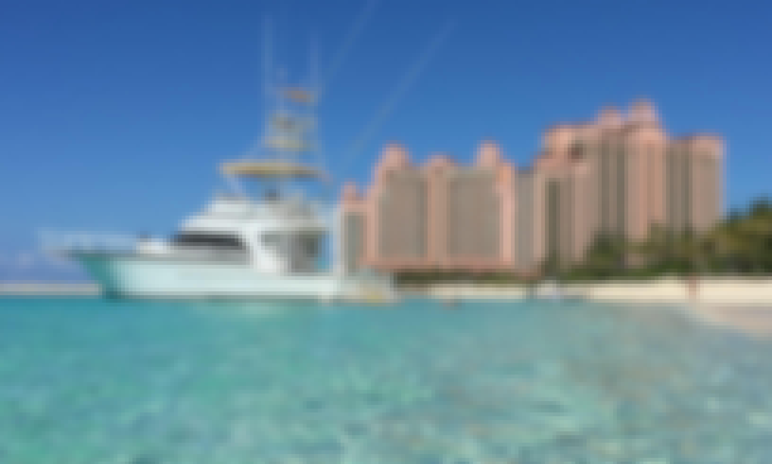 58' Striker Yacht  Fishing /Snorkel Charter in Nassau Save 20%