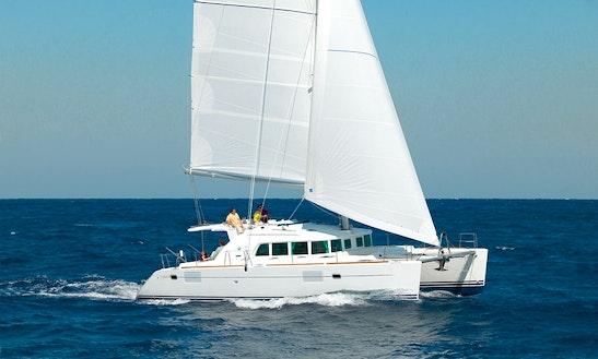 Cruising Catamaran Rental In Sitges