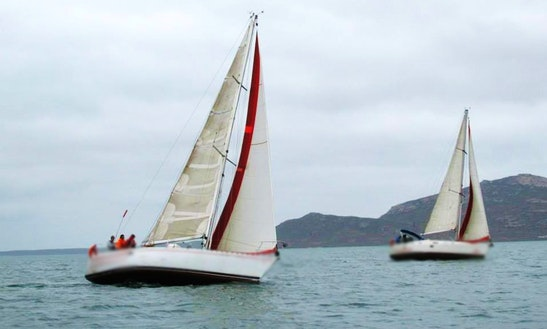 Charter On 35' Beneteau Sailing Yacht From South Africa