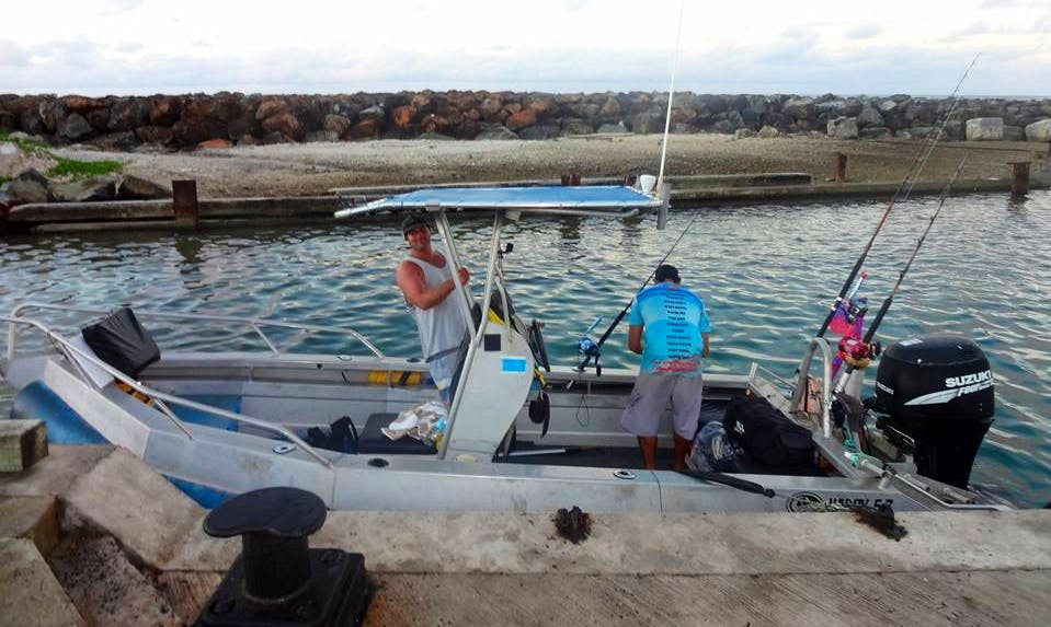 Enjoy Fishing in Avarua District, Cook Islands on 19' Hardy Center Console