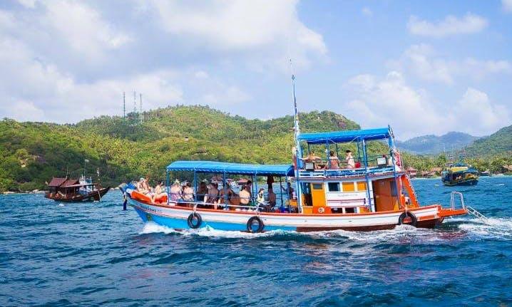 Enjoy Fishing in Tambon Ko Tao, Thailand on Trawler