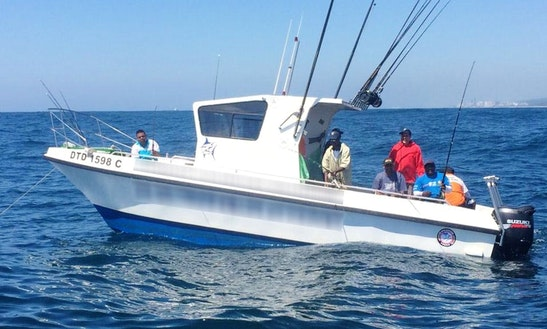 'lynski 6' Shark Fishing Charter From Durban