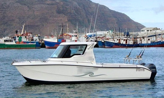 Go Fishing In Cape Town, South Africa On 29' Kahuma Sport Fisherman