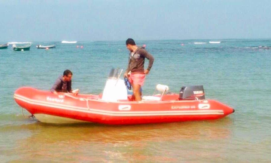 Enjoy Fishing in Casablanca, Morocco on a Rigid Inflatable boat