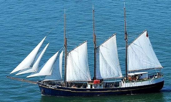 Charter A Talll Ship Classic Yacht In Lisboa, Portugal