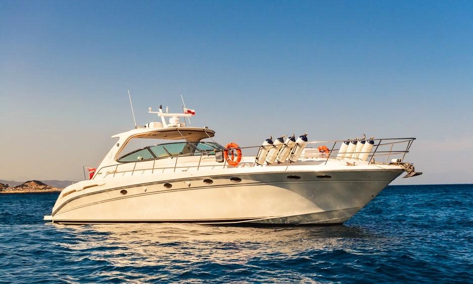 Charter 54' Sea Ray 540 Sundancer Power Mega Yacht in