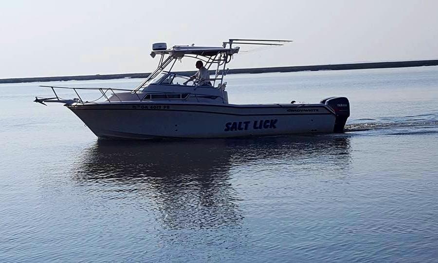 "Enjoy Fishing On 27ft ""Salt Lick"" Sport Fisherman Yacht In Jekyll Island, Georgia"