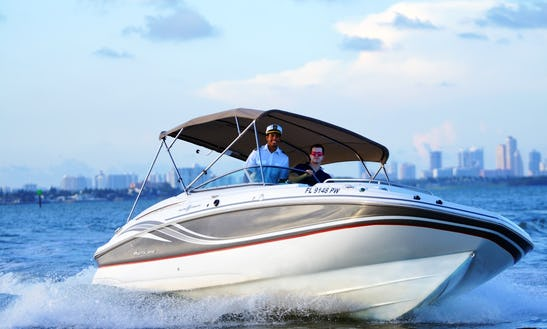 24' Brown Hurricane Rental In Miami Beach