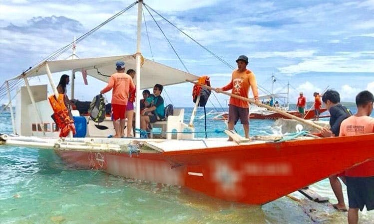 14 Person Cebuano Traditional Boat for Rent!