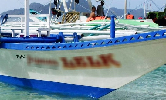 Charter A Traditional Boat In Taytay, Palawan