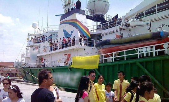 Passenger Boat In Dauin