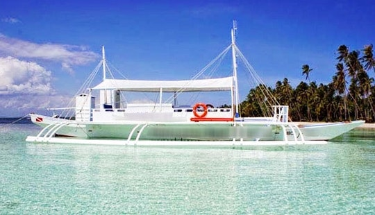 Dive Boat Tour -  30 People Capacity In Alona Beach