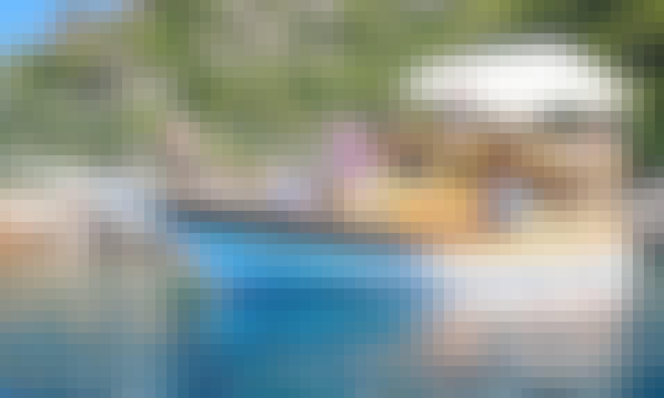 Double Decker Motor Yacht Tour for 30 People in Antalya, Turkey