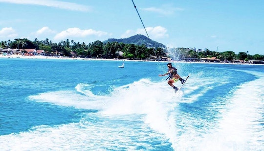 Wakeboarding Fun In Ko Samui, Thailand