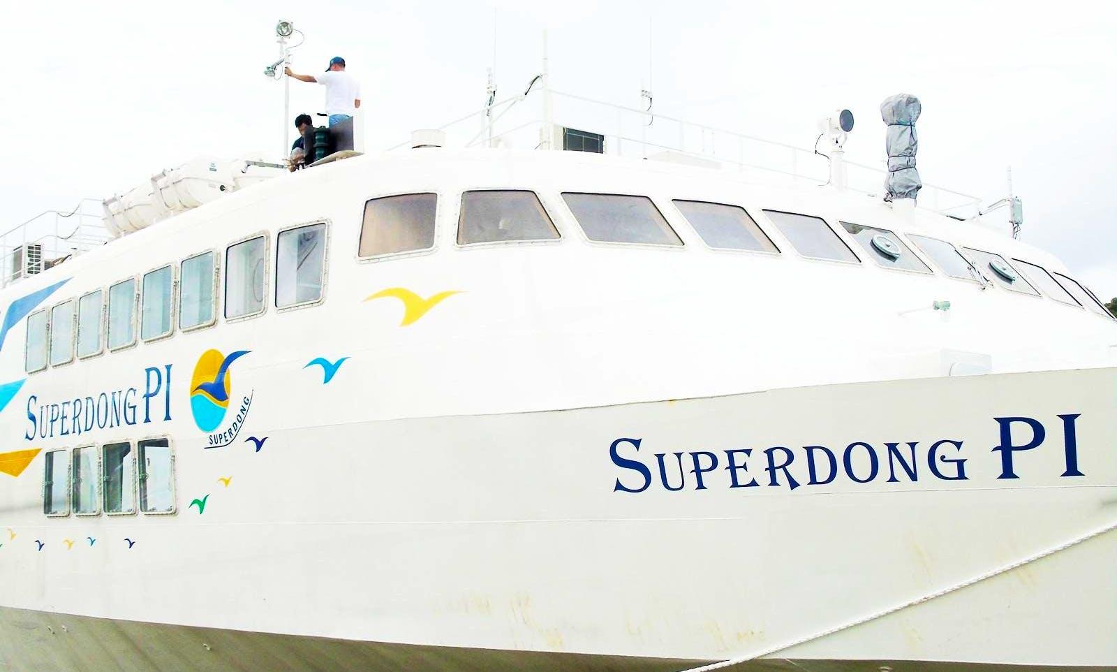 Enjoy Cruising in Thi xa Ha Tien, Vietnam on Superdong P1 Passenger Boat