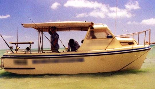 Charter Fishing In Bamaga, Queensland On 20' Cuddy Cabin