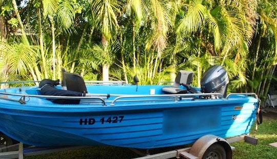 Rent 4.1 M Fishing Boat In Darwin Australia