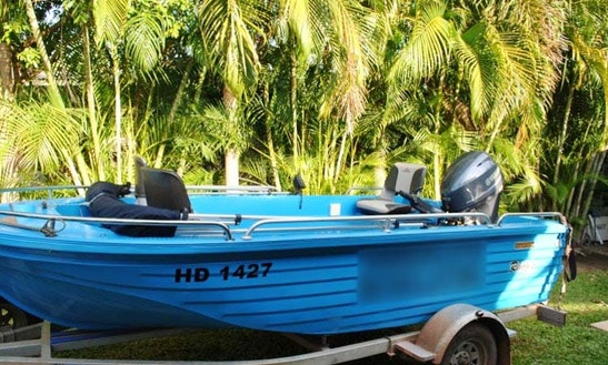 Rent 4.1 M Fishing Boat In Darwin Australia