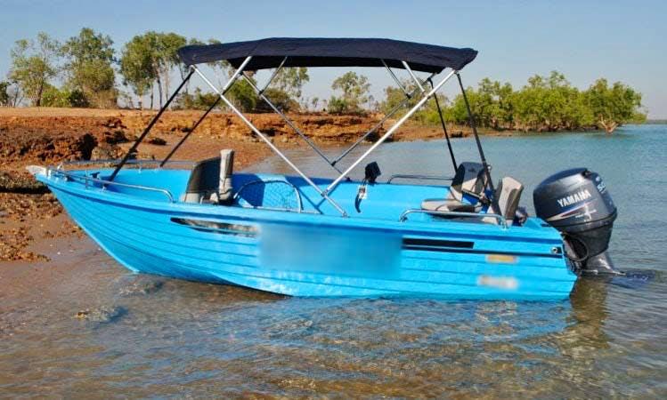 Fishing Boat Hire in Darwin Australia