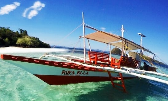 Rent A Traditional Boat In Coron, Philippines