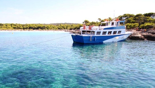 68' Passenger Boat Charter In Ciutadella De Menorca