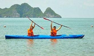Enjoy Kayak Fishing in Thanh pho Phu Quoc, Vietnam