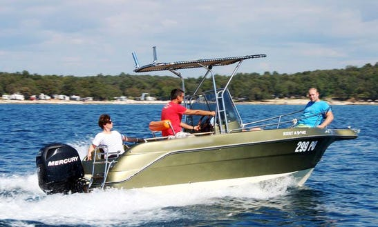 Rent A Picaro 20 Open Boat In Funtana